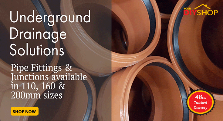 Underground Drainage Solutions in a Range of Sizes & Fittings