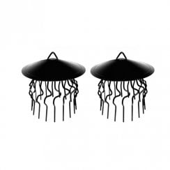 "11"" Crow Guard with Rain Cap 2pk"