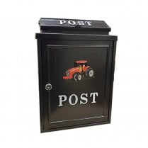 Arboria Wall Mounted Postbox (Red Tractor)