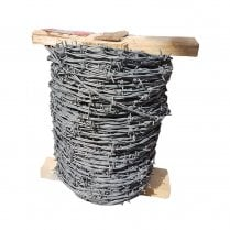 Barbed wire with Crapal®2 coating