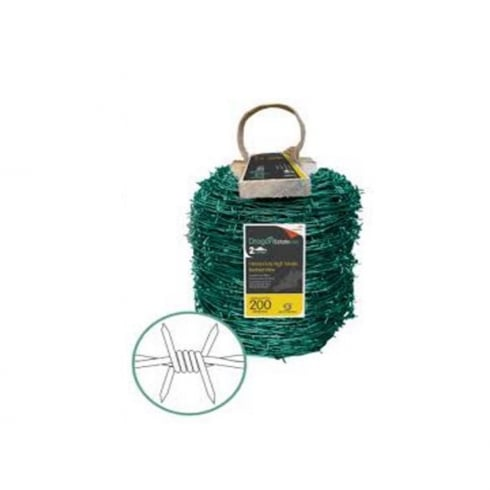 Dragon Barbed Wire Green Coated 25KG(200METRES)