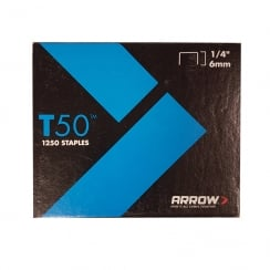 ARROW STAPLES T50 (Various Sizes)