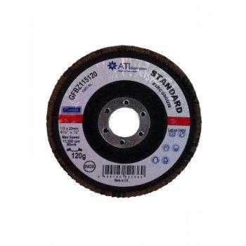 INOX 115X22 FLAP DISC P120