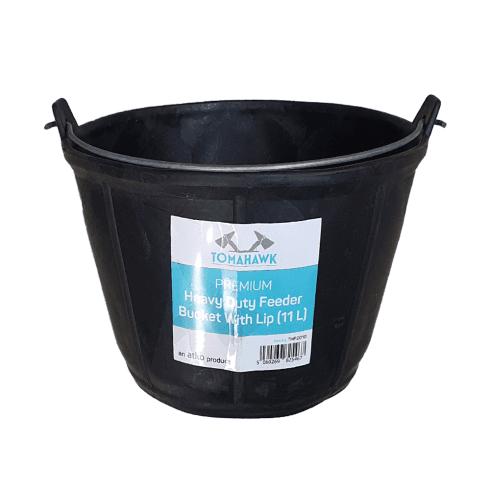 Atko Premium Heavy Duty Bucket Feeder with Lip (11L)