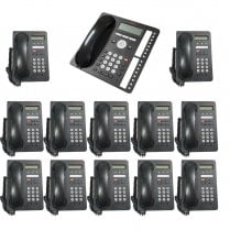 Avaya 1403  Business Phone Set 12 phone and 1 Main