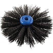 "Chimney Brush Head 16"" PVC"