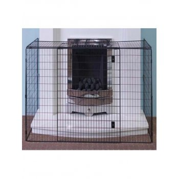 NURSERY FIRESCREEN SAFETY GUARD BLACK