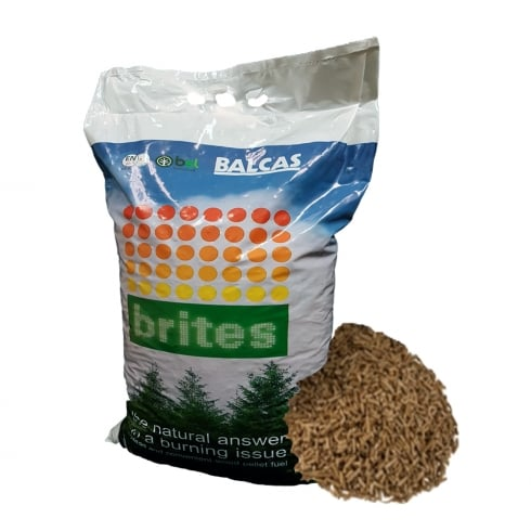 Wood Pellets for Wood Burning Stoves 10Kg Bag