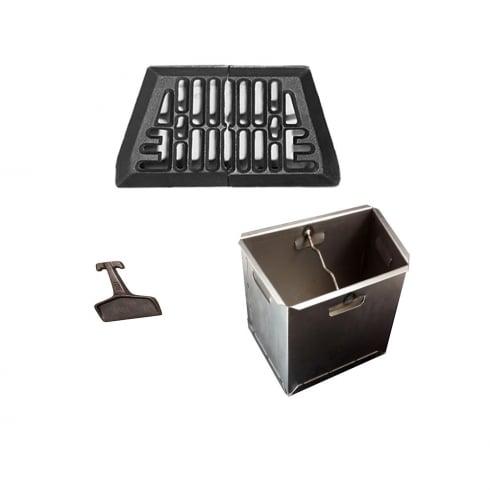 Baxi Burnall Fire Grate, Ashpan and Lifting Key (Various Sizes)