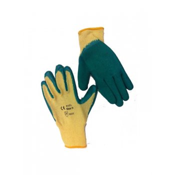 Green Grip Safety Gloves - Size 9 (L)