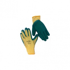 Green Grip Safety Gloves - Size 9 (L)