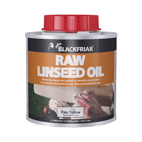 Blackfriar Raw Linseed Oil 250ml - Pale Yellow