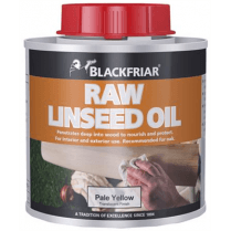 Raw Linseed Oil 250ml - Pale Yellow
