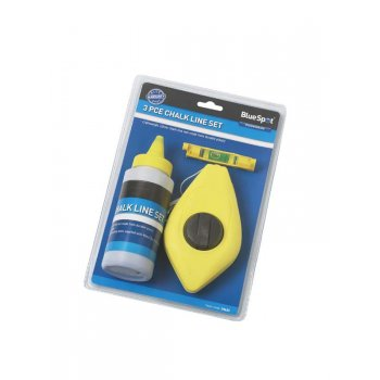 Blue Spot 3pce Chalk Line Set 34634