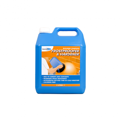 Bond It RAPID HARDENER AND  FROSTPROOFER (5 LITRES)
