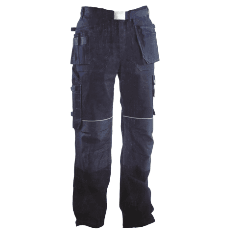 Buckler Buckskinz BX001 Black Combat/Work Trouser with free belt