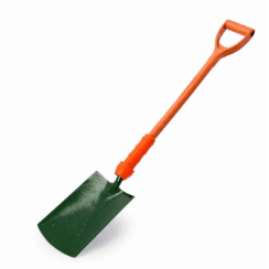 Bulldog PD5DSIN Insulated Digging Spade with 28 Inch Shaft
