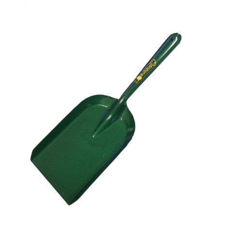 Bulldog Premier Green Coated Metal Coal Shovel 6""