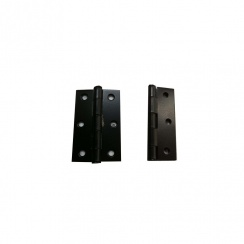 "3 1/2"" Black Loose Pin Hinges ( Pair )"