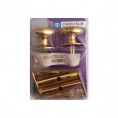 Carlisle Brass Twin Thumb Turn Security Bolt - Brass