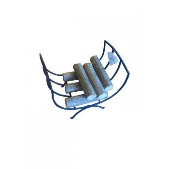 Castle Fireside Collection Castle Metal Log Basket