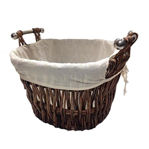 Log/Laundry Basket with Removable Liner
