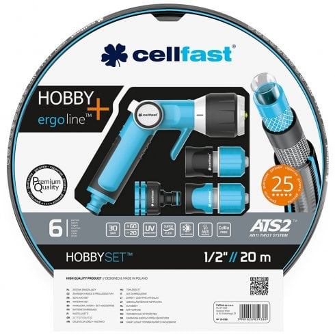 "Cellfast ATS2 1/2""//20m Garden Hose and Accessories - Hobby+"