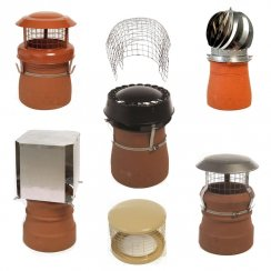 Chimney Cowls, Spinners and Bird-guards by MAD for Chimney Pots