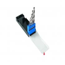 6 Piece HSS Split Point Drill Bit Set