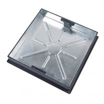 Block Paving Square to Round Recessed Manhole Cover CD450SR