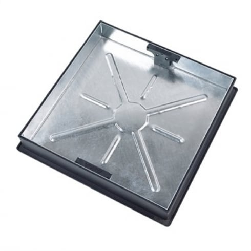 Block Paving Square to Round Recessed Manhole Cover CLKS 450SR