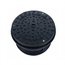 CD1649 KMB ROUND DUCTILE IRON COVER & FRAME B125