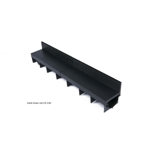 Clark Drain CLARKDRAIN POLYPROPYLENE BRICKSLOT CHANNEL CD430