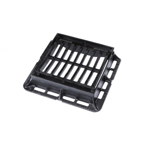 Clark Drain Dished Top Ductile Iron Gully Grate and Frame CD 60DDI KMC