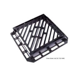 Double Triangle Gully Grate CD732 KMD