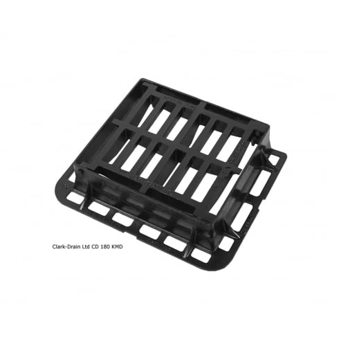 Clark Drain Heavy Duty Hinged Gully Grating and Frame for Road Use CD180 KMD