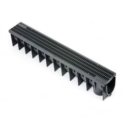 PVC Drainage Channel 1.0MT including PVC Grate