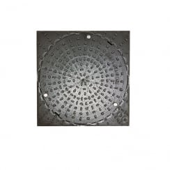 Clark Drain Square/Round Chamber Cover 320mm - CD356