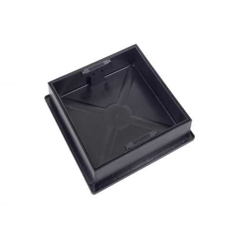Clark Drain Square to Round Recessed Cover and Frame CD300SR