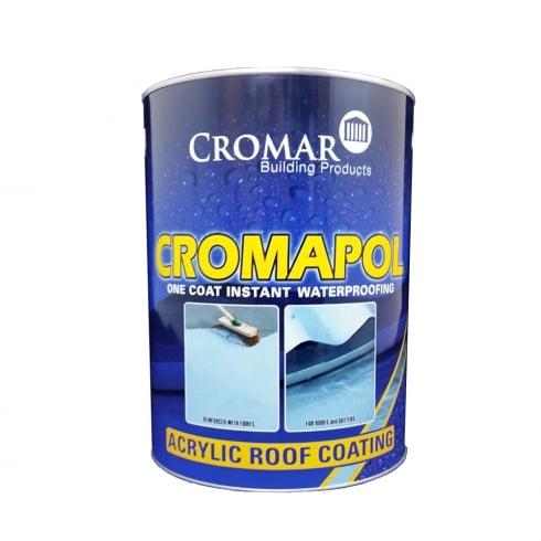 Cromar Building Products Cromapol One Coat Instant Waterproofing 5L - Grey