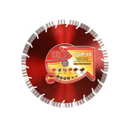 "DART RED TEN DIAMOND BLADE DB00333   12"""