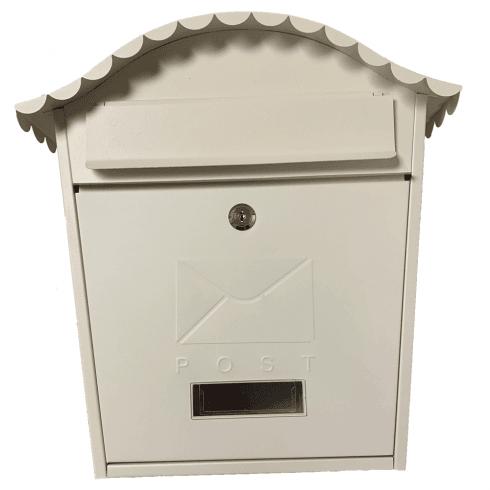 De Vielle Traditional Cream Post Box