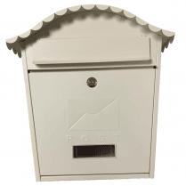 Traditional Cream Post Box