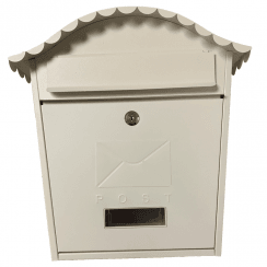 Traditional Cream Post Box