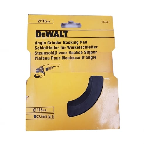 DeWalt Angle Grinder Backing Pad 115mm/22.2mm (M14) DT3610-XM