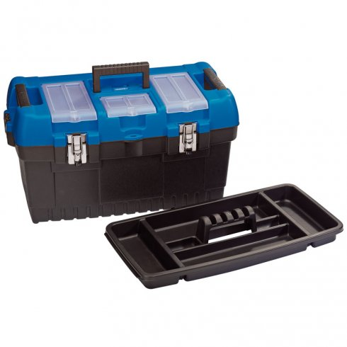 Draper 560MM Large Tool Box with Tote Tray