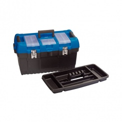 560MM LARGE TOOL BOX WITH TOTE TRAY