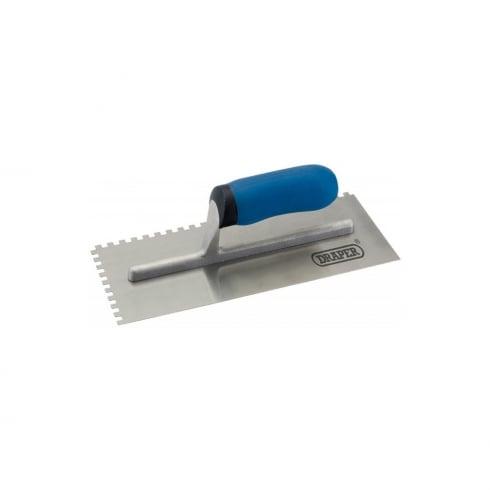 "Draper Adhesive Spreading Trowel 11"" (280 x 120mm)"