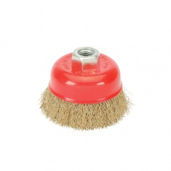 DRAPER CRIMPED WIRE CUP  BRUSH 80MM 41444