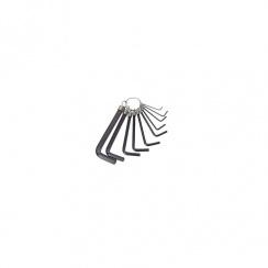 DRAPER HEXAGON KEY SET 10P RING METRIC 14121